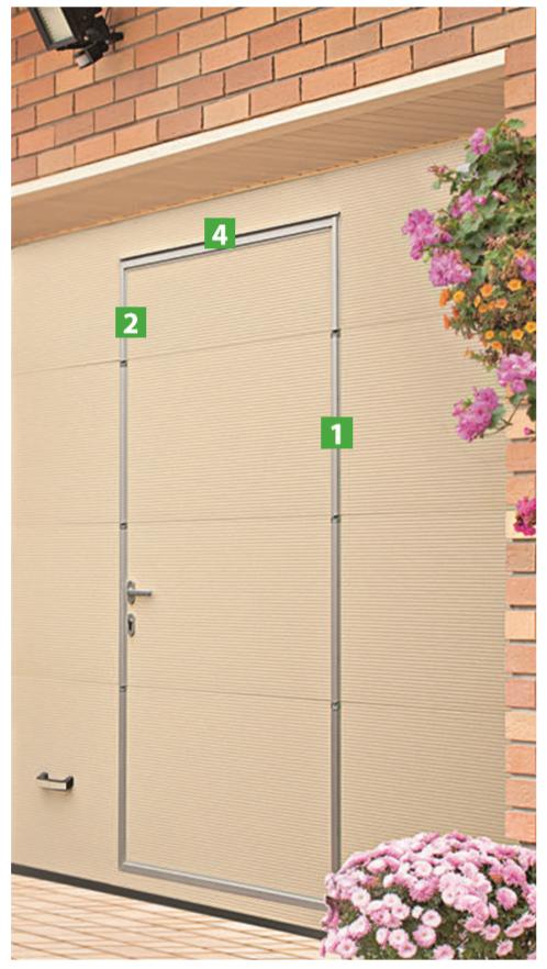 inovativna izvedba garažnih vrata Adistrum