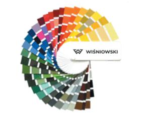 paleta boja garažnih vrata Adistrum